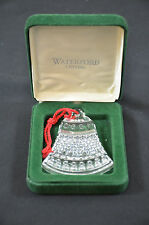1993 Waterford Crystal Bell Christmas Ornament 1403