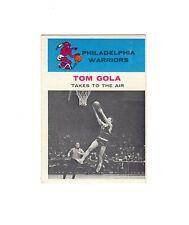1961 Fleer basketball TOM GOLA #51--Warriors, Hall of Fame!!
