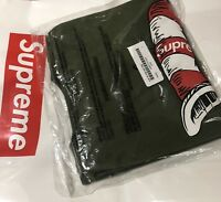 Supreme Cat In The Hat Tee, Olive Large