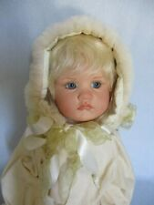 Anabella Ooak 24� Vinyl Doll by Linda Valentino Michel 2013 Snow Bunny - Signed