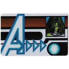 HEROCLIX NICK FURY Agent of SHIELD - ID Card #006 She-Hulk *UC*