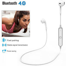 Wireless Bluetooth 4.1 Headphones Headset MIC In Ear Sports for iPhone Samsung