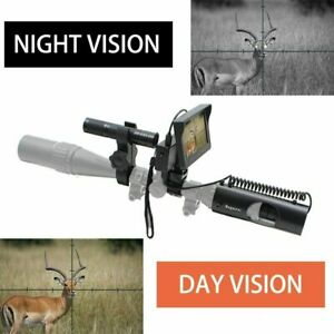 400M Infrared Night Vision Rifle Scope recordable Camera 16MM 4.3in. Megaorei 2
