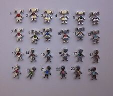 BUY 5/GET 10 FREE! Silver Birthstone Girl/Boy Floating Charms for Glass Locket