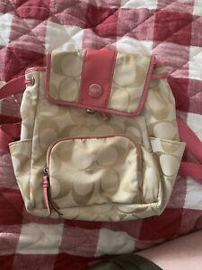 Coach Backpack Fabric -A1361-F21928