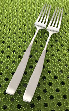 New listing 2 Towle Lauffer Bedford Dinner Forks Stainless Flatware Holland