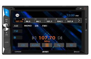 "Jensen CDR6221 2-DIN 6.2"" CD/DVD Car Stereo w/ Bluetooth"