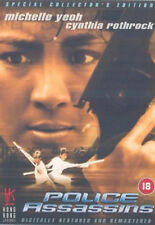 POLICE ASSASSINS DVD Michelle Yeoh Cynthia Rothrock Corey UK Rele New Sealed R2