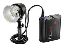 Jinbei Fl Ii-500 Rechargeable Battery Strobe Flash Kit with 2pcs Batteries