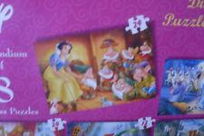 8  PETITS PUZZLE DISNEY PRINCESSES  A PARTIR DE 3 ANS de 27,5 sur 19,5cm
