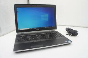 🍀 NICE! Dell Latitude E6530 i7-3540M 3.0 8GB 256GB SSD Nvidia Win 10 Pro LOT