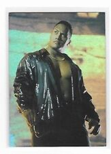 THE ROCK ROCK SOLID  C4 CHROME CARD   BY COMIC IMAGES