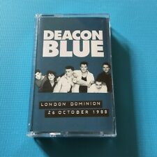 DEACON BLUE - London Dominion - RARE 2016 *NEW* Cassette Tape