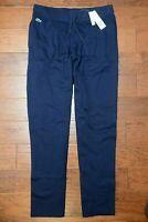 Lacoste $135 Men's Navy Sport Fleece Cotton Sweatpants Big & Tall 4XL EU 11R