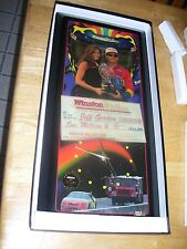 Jeff Gordon #24 NASCAR Winston Million Limited Edition Clock Jebco 1997