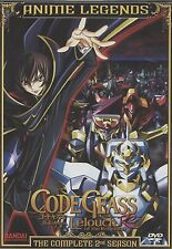 Code Geass: Lelouch of the Rebellion (Complete Second Season) 8 dvds