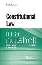 NEW Constitutional Law in a Nutshell (Nutshells) by Jerome Barron