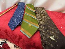 3 vintage Countess Mara mens vintage neckties