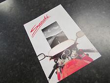 NOS 1990 SUZUKI RANGE SALES BROCHURE RGV250 GSXR750 RG500 GSXR1100 MEMORABILIA
