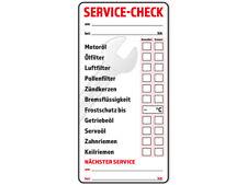 10 x KFZ Inspektionsaufkleber Service Aufkleber Serviceaufkleber Wartung Prüfung