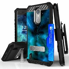 LG Aristo MS210 LV3 case Case,Belt Clip Holster,Kickstand,Card Slot Heavy Dut...