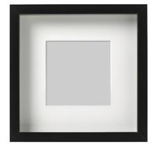 IKEA RIBBA Bilderrahmen Fotorahmen [23x23 / 50x50 cm] tiefen Passepartout Rahmen