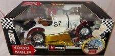 B Burago 1000 Miglia Mercedes Benz SSKL 1931 in 1:18