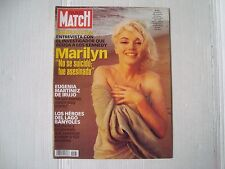 MARILYN MONROE rare SPANISH Paris Match cover magazine George Barris