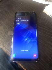 Samsung Galaxy s8 sm-g950 64gb Smartphone in gebürstetem Silber auf dem 02 Netzwerk