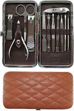 Nail Care Set Manicure Pedicure Travel Kit Files Clipper Scissors Polish Varnish