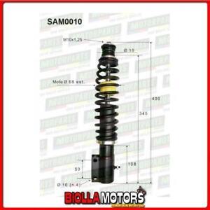SAM0010 COPPIA AMMORTIZZATORI ANTERIORI MICROCAR JDM TITANE 901002  (MK010)