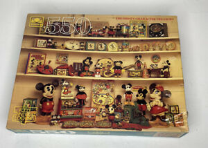 1980's new Disney Character Treasury jigsaw puzzle - 550 pieces Sealed