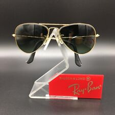 Vintage Ray Ban Bausch And Lomb Small 52mm Aviator USA EXCELLENT