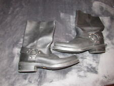 VINTAGE FORD RACING DAYTONA HARNESS MOTORCYCLE BOOTS SIZE 12 D NICE SHAPE
