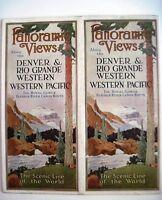 """1930-40's """"Denver & Rio Grande Western Pacific Railroads"""" Travel Brochure *"""