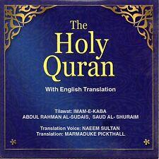 COMPLETE QURAN   with English Translation by SUDAIS & SHURAIM   (30-(Audio CD)