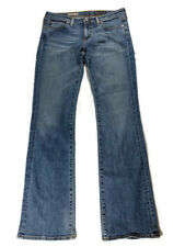 Adriano Goldschmied Jeans Womens 29 R Slim Boot The Colette USA Made Medium Wash
