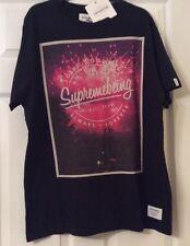 Supremebeing Men's T-shirt Design The Secret - Black Large
