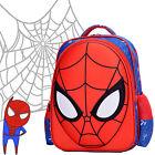 Spiderman 3D Boys Kids Large School Backpack Rucksack Shoulder Bag Gift 20-35L