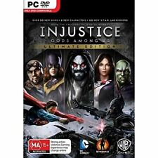 Injustice Gods Among Us Ultimate Edition (PC, 2013)
