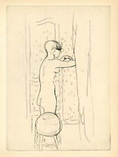 Pierre Bonnard original etching