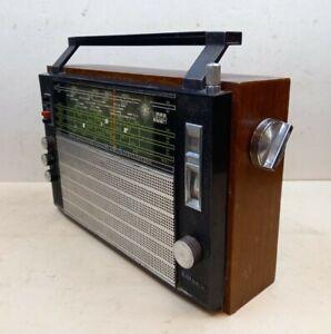 Selena Vega B205 Vintage Transistor Radio USSR 1970s FM AM