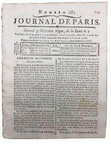 Craft Of Assignats 1790 Aix Colmar Saint Domingo Journal 10064 France