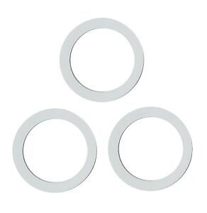 Coffee Culture Silicone Gaskets 3, 6, 9 Cups Set of 3 Coffee Maker