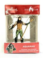 Hallmark DC Comics WB Shield, Aquaman, Christmas Ornament 2018, 2HCM4312