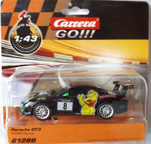Carrera GO Porsche GT3 Haribo  1:43 Slotcar Auto GO Plus 61288 Neu OVP