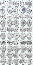 PICK ANY OF THE 50 US STATE QUARTERS P or D mint - UNCIRCULATED - SEE MULTI BUY