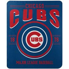 Chicago Cubs 50'' x 60'' MLB Southpaw Fleece Throw Blanket