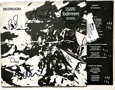 BDRMM - BEDROOM HAND SIGNED RECORD VINYL LP AUTOGRAPHED