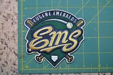 "Eugene Emeralds Oregon 5"" MiLB Throwback Sleeve Minor Baseball Jersey Patch"